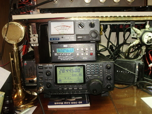 ICOM 746,Night Eagle D-104,NCG 2050, & MFJ 929 Auto Tuner